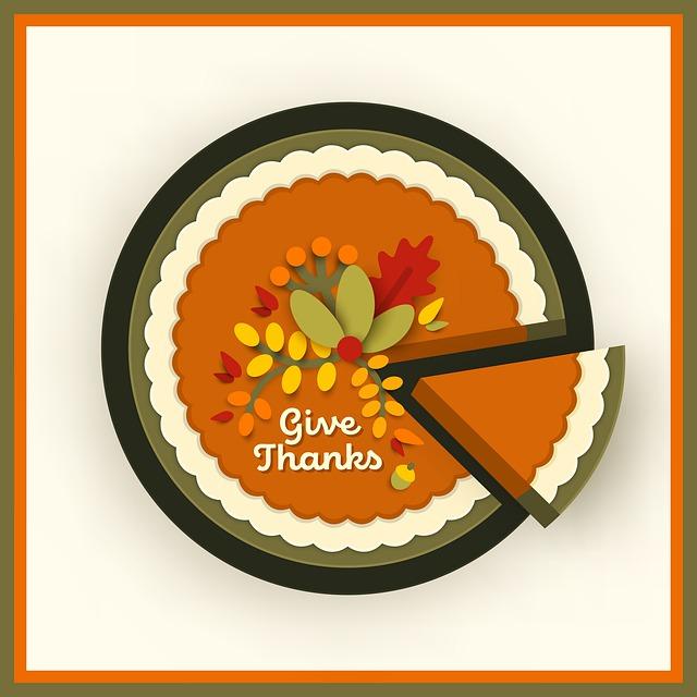 pumpkin pie thanks
