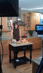 roasting veggies on tv