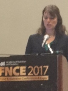 presentation at nutrition conference