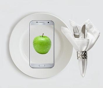 dinner smart phone