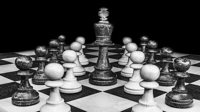 strategy chess board