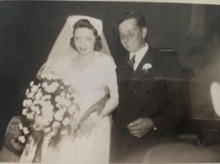 grandparents wedding day