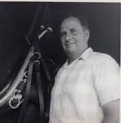 Grandpa and horse