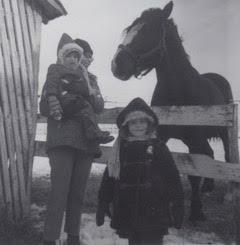 mom k a horse
