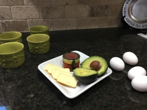 egg avocado cheese breakfast