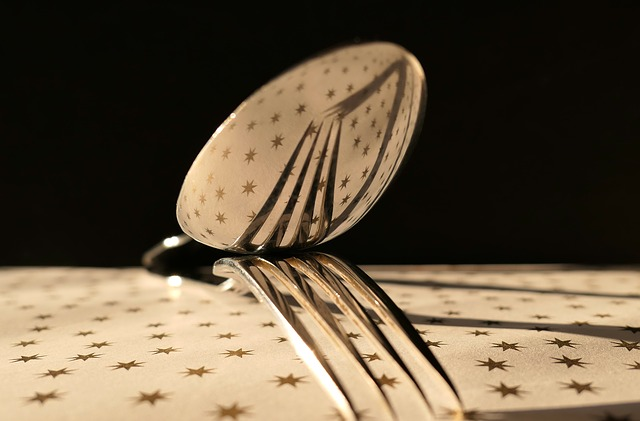fork reflected in spoon